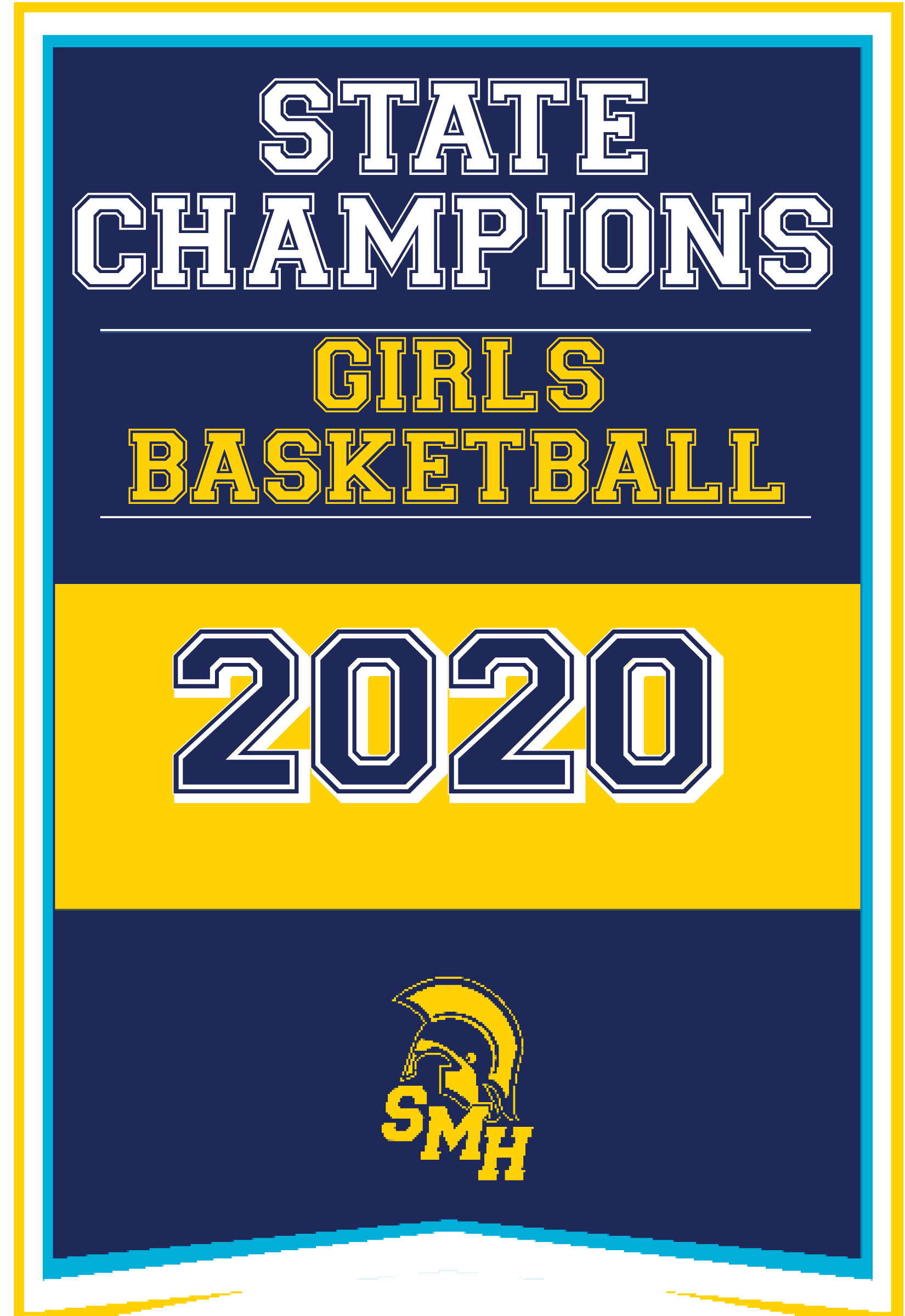State Champions Girls Basketball 2020
